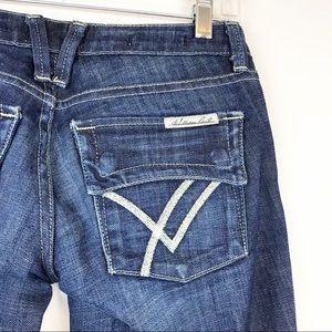 William Rast Belle Flare Dark Wash Denim Jeans